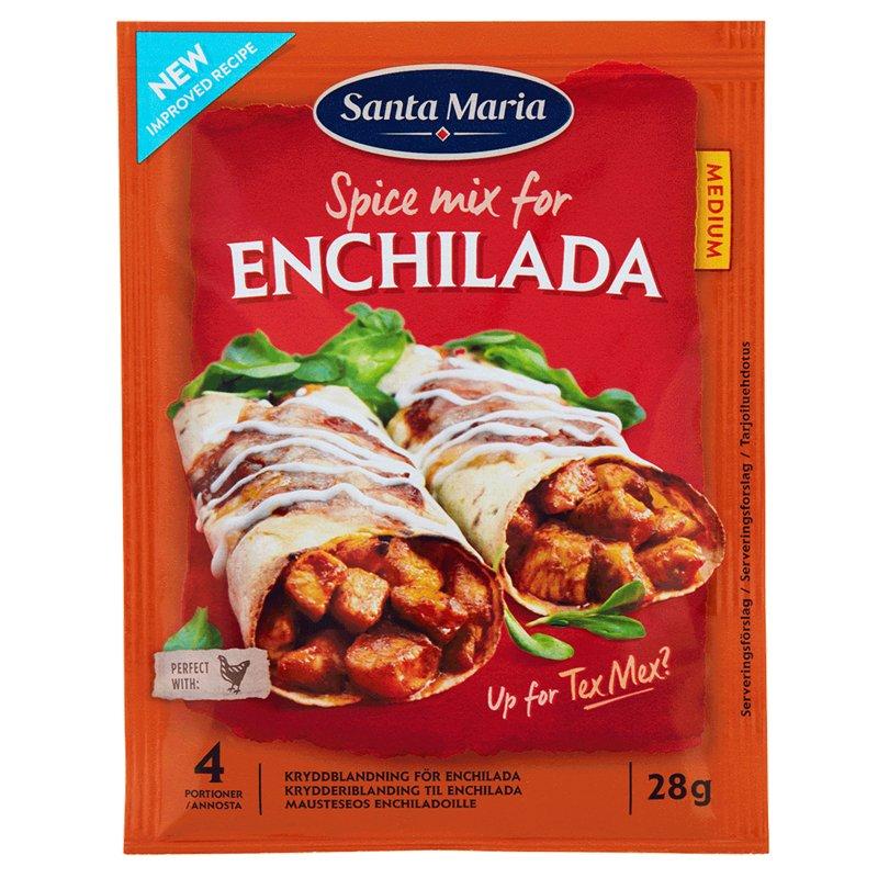 "Mausteseos ""Enchilada"" 28g - 2% alennus"