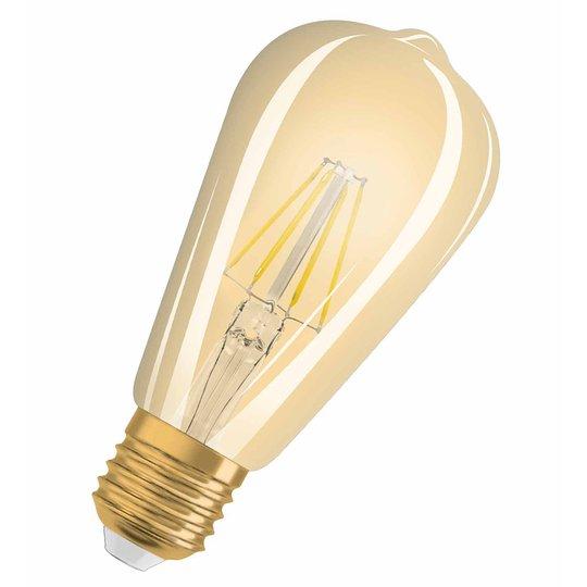 E27 4,5W 824 LED-rustiikkilamppu, vintagemalli