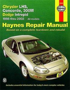 Haynes Reparationshandbok, Chrysler LHS, Concorde, 300M, Universal