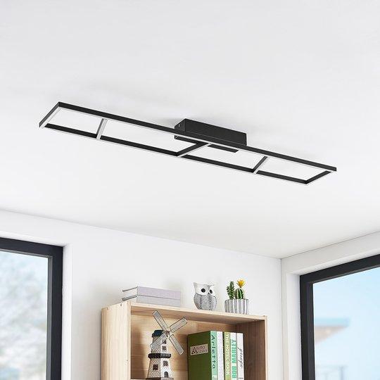 Lucande Hylda -LED-kattovalo 3-portainen himmennys