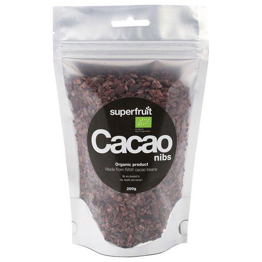 Superfruit Krossade Kakaobönor Rå, 200 g
