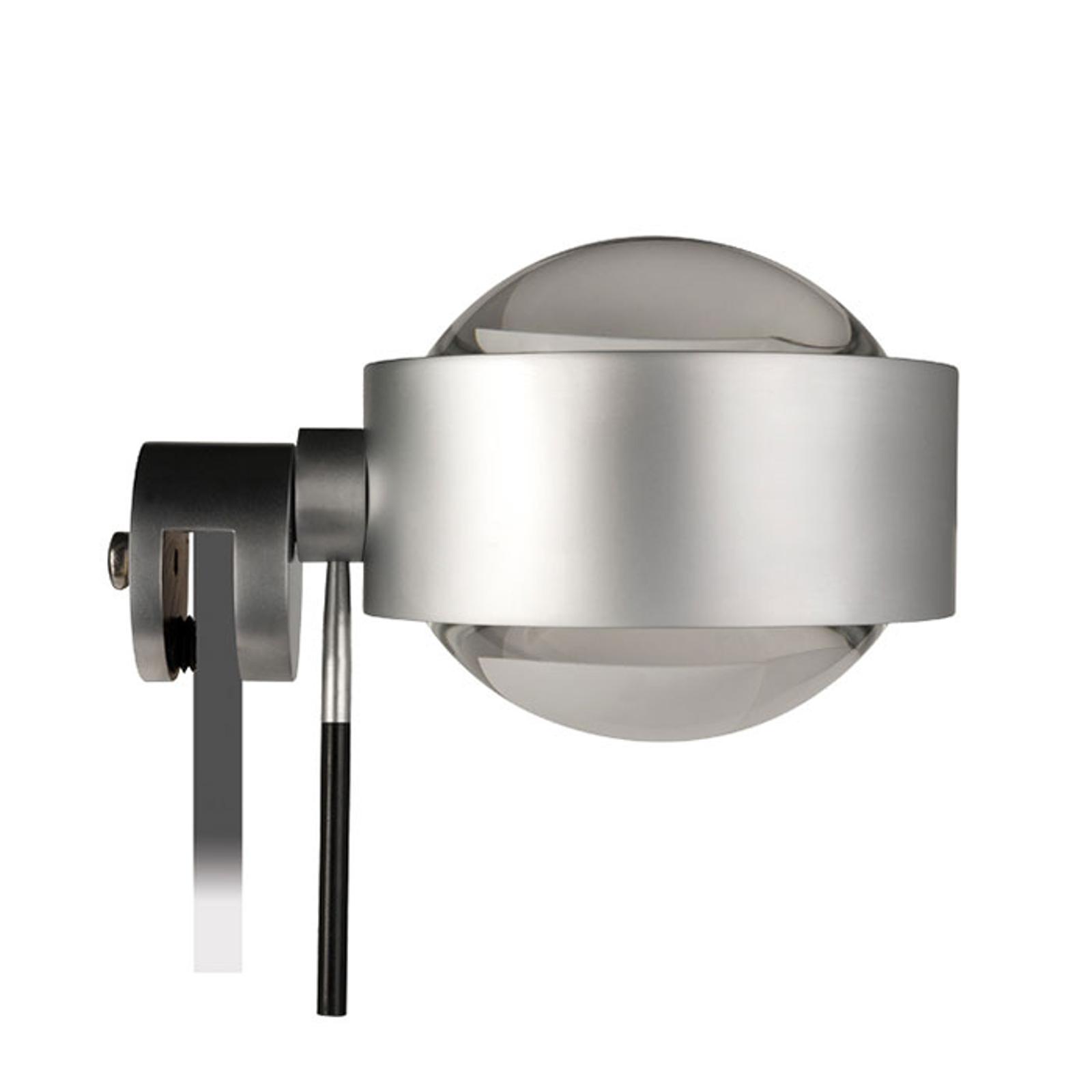 LED-peiliklipsivalaisin Puk Fix+, matta nikkeli