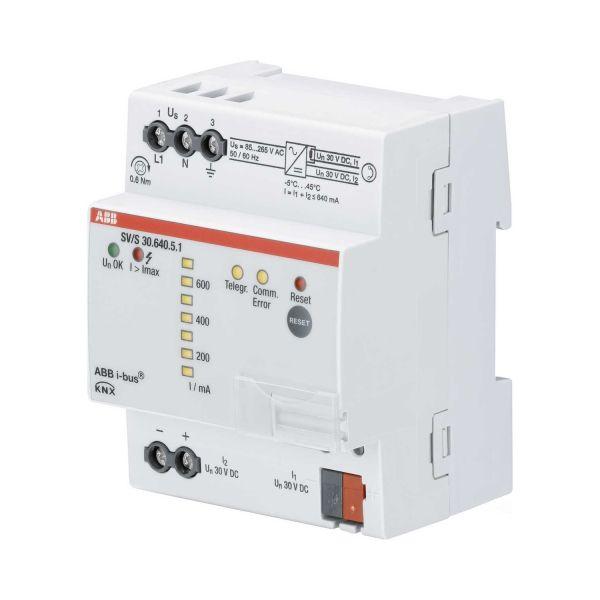 ABB 2CDG110146R0011 Virtalähde diagnostiikalla 640 mA, LED-näyttö, ylimääräinen 30 V DC