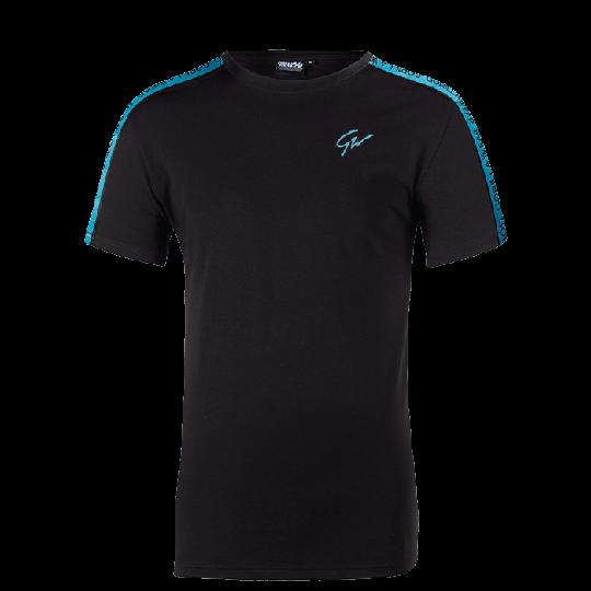 Chester T-Shirt, Black/Blue