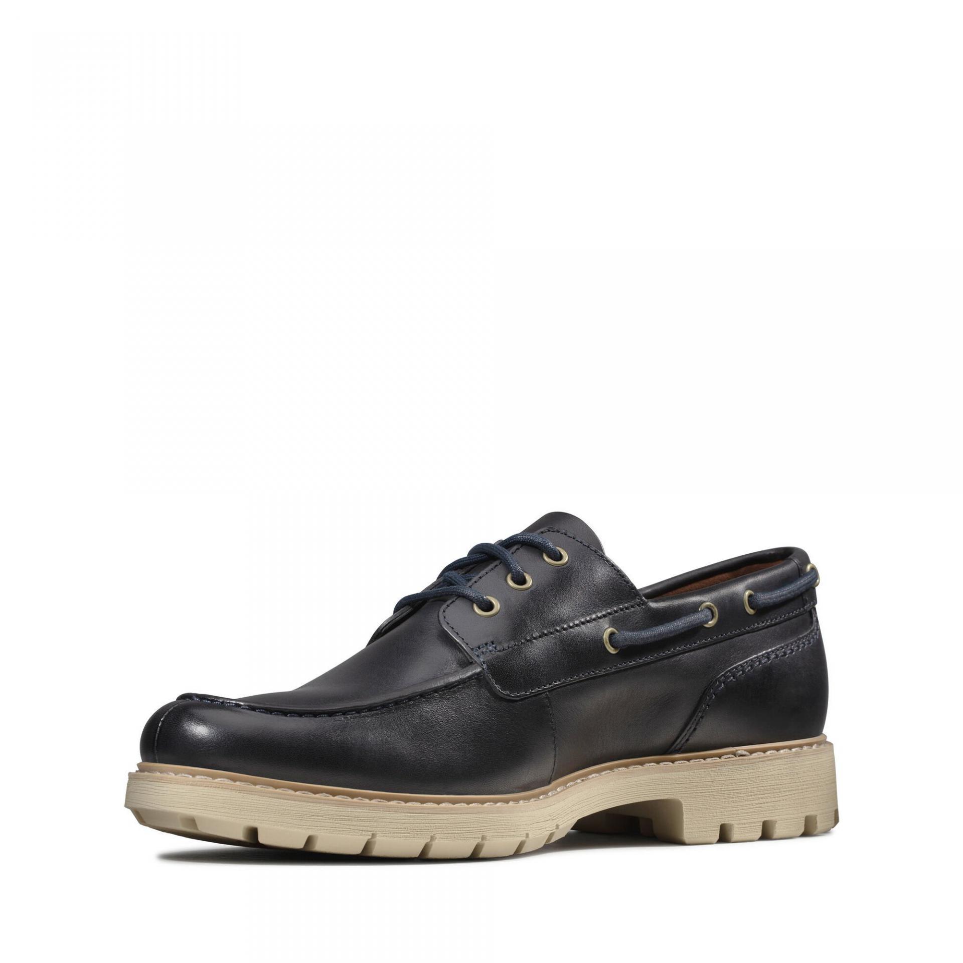 Clarks Men's Batcombe Sail Shoes Various Colours 5050410169427 - 8 UK Navy