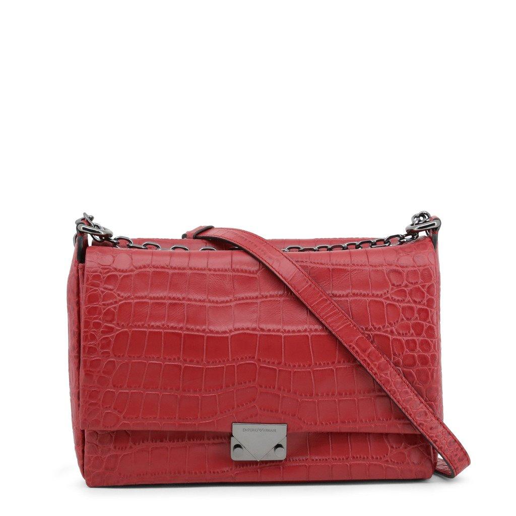 Emporio Armani Women's Shoulder Bag Brown Y3E063-YED4I - red NOSIZE