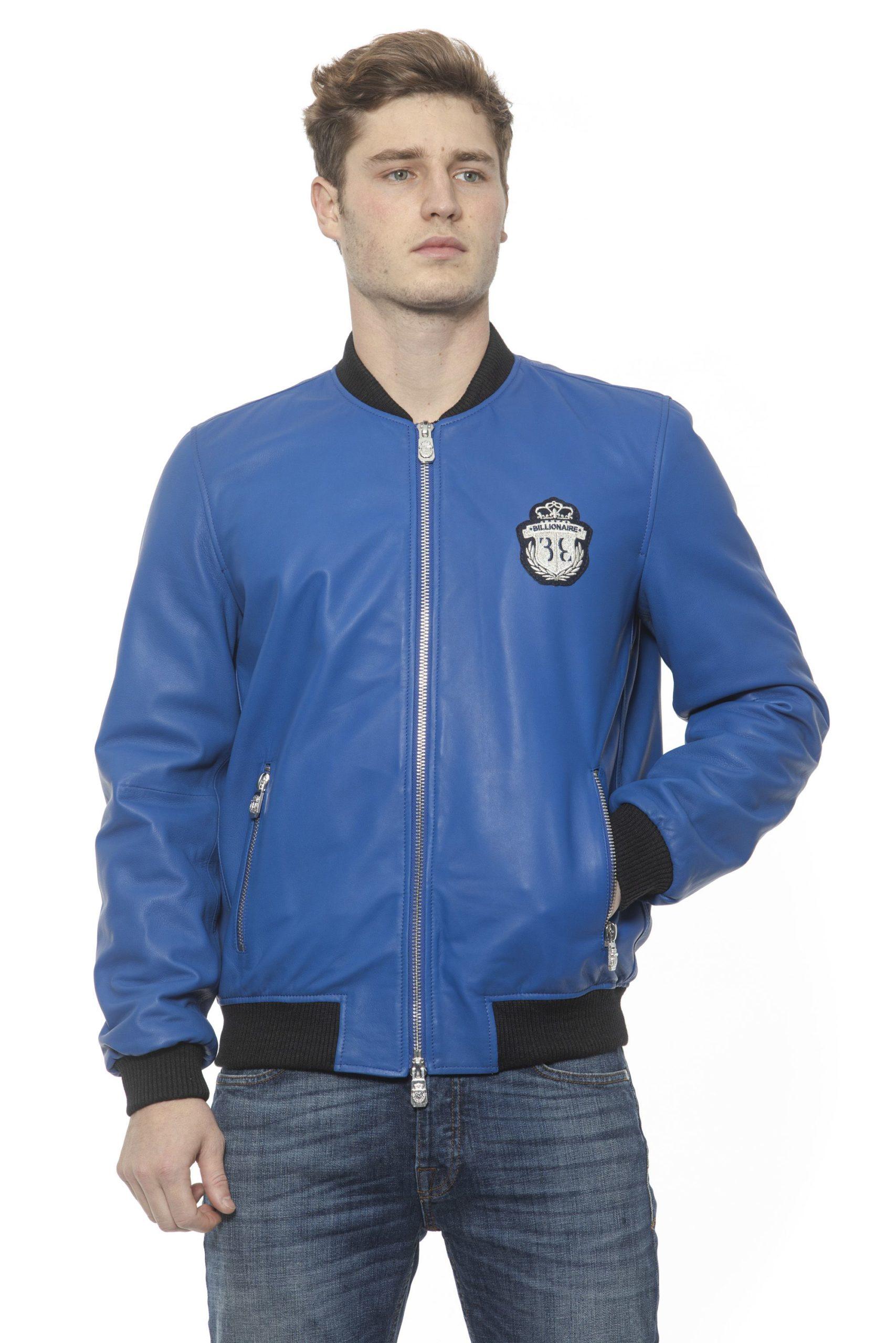 Billionaire Italian Couture Men's Bluette Jacket Blue BI1313354 - M