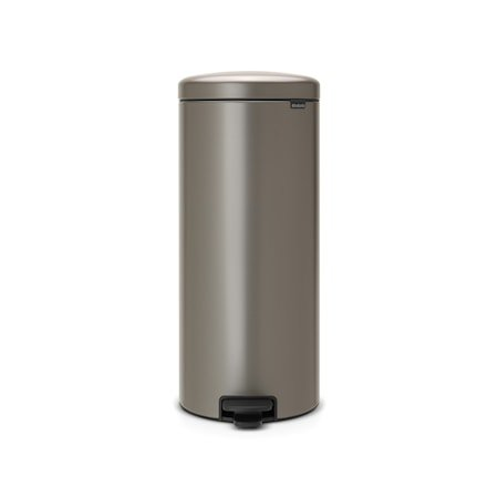 Pedalbøtte newIcon, plastinnerbøtte 30 L Platinum
