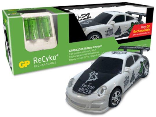 GP Batterier Batterilader med RC Bil 6-pack