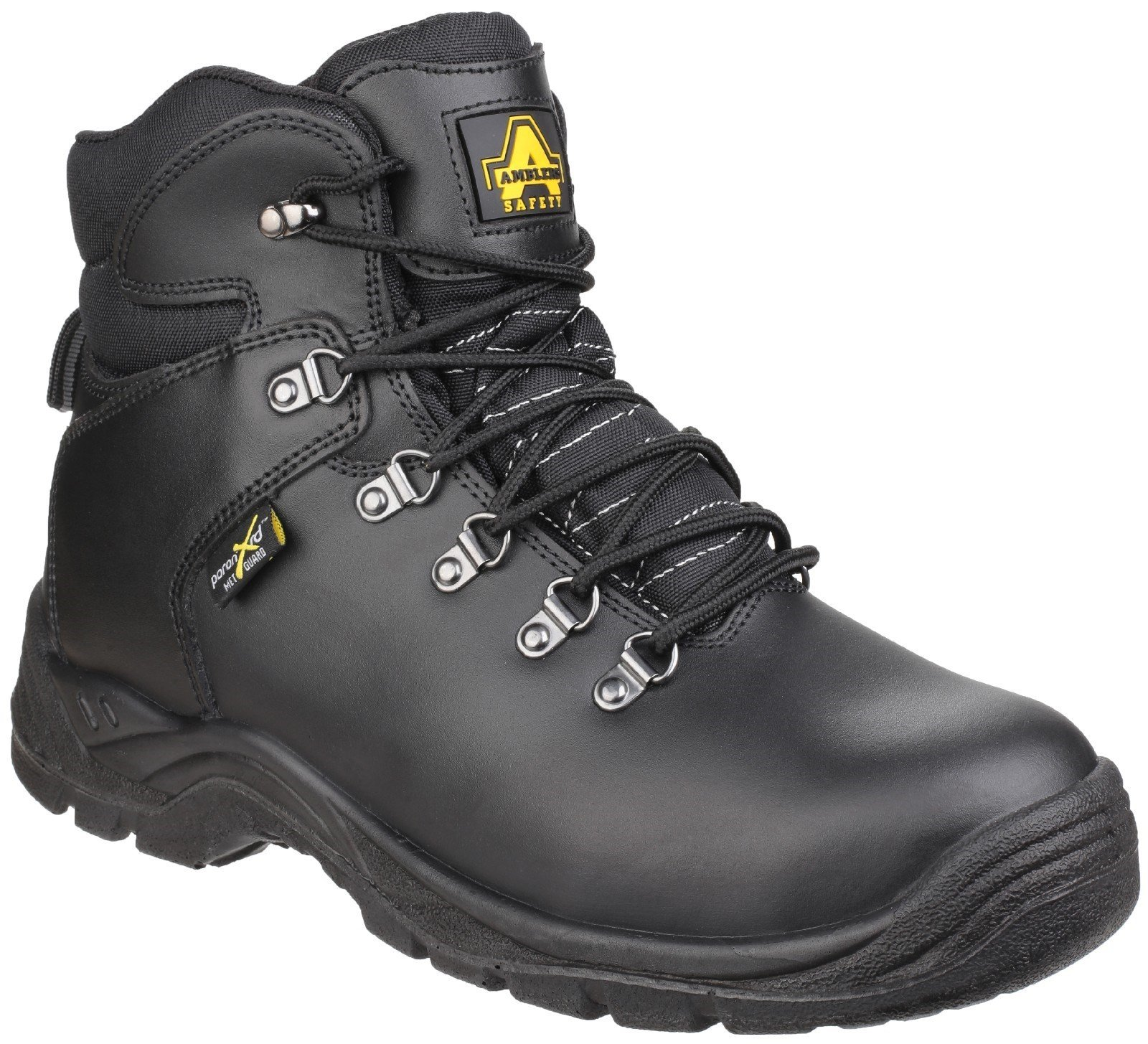 Amblers Unisex Safety Poron XRD Internal Metatarsal Safety Boot Black 26171 - Black 3