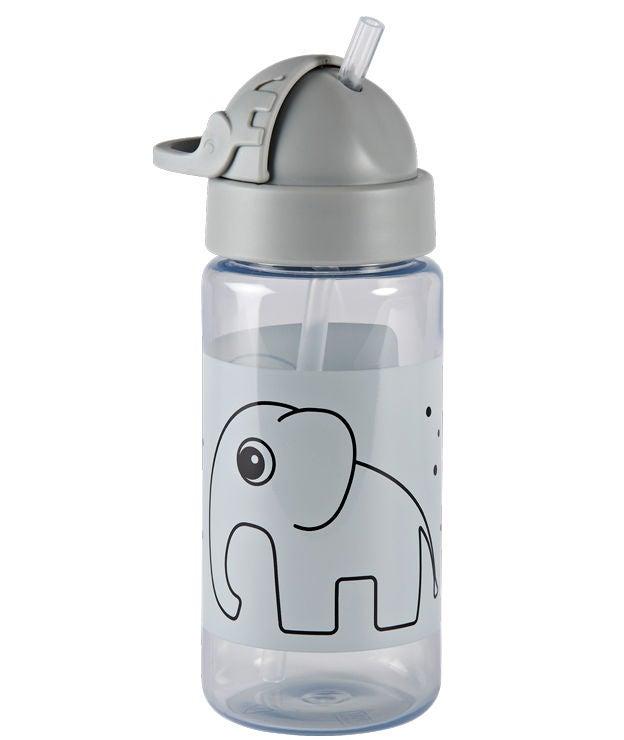 DbD Flaska med Sugrör Elphee Grey