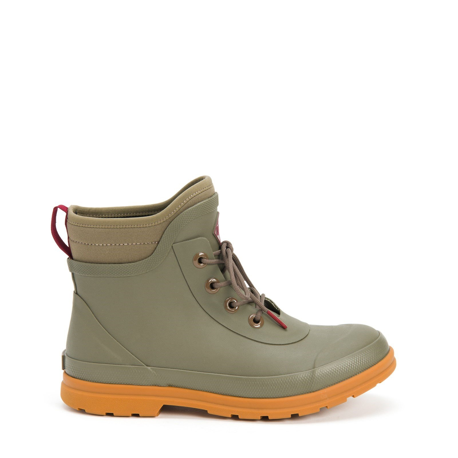 Muck Boots Women's Originals Lace Up Ankle Boot Various Colours 30079 - Taupe 3