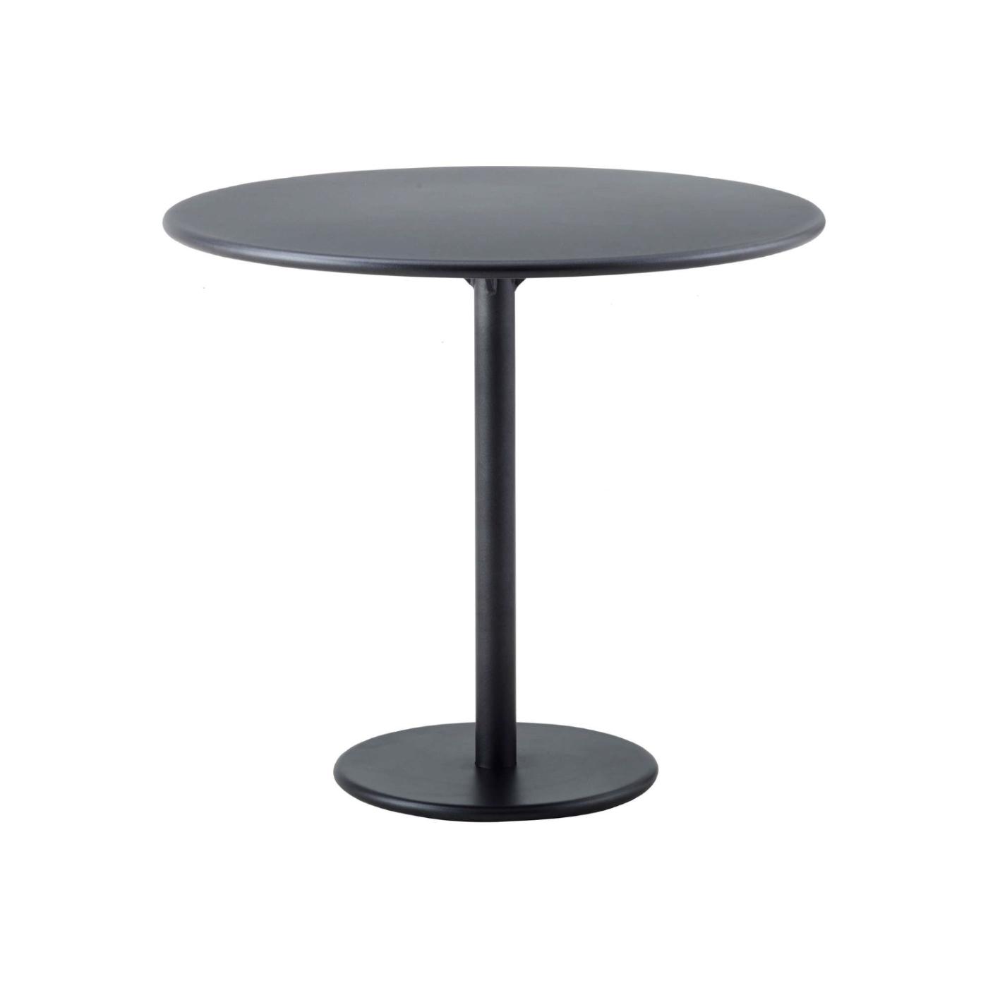 Cafébord GO Ø 80 cm lavagrå, Cane-line