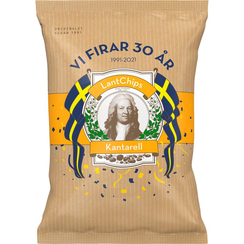 Chips Kantarell - 16% rabatt