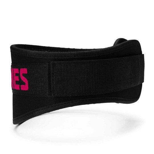 Womens gym belt, Black/pink