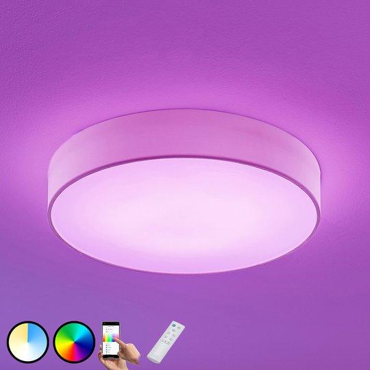 LED-RGB-kattovalaisin Ajai 3 000–5 000 K WiZ 60 cm