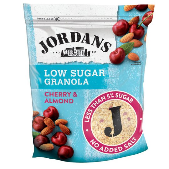 "Granola ""Cherry & Almond"" 400g - 78% alennus"