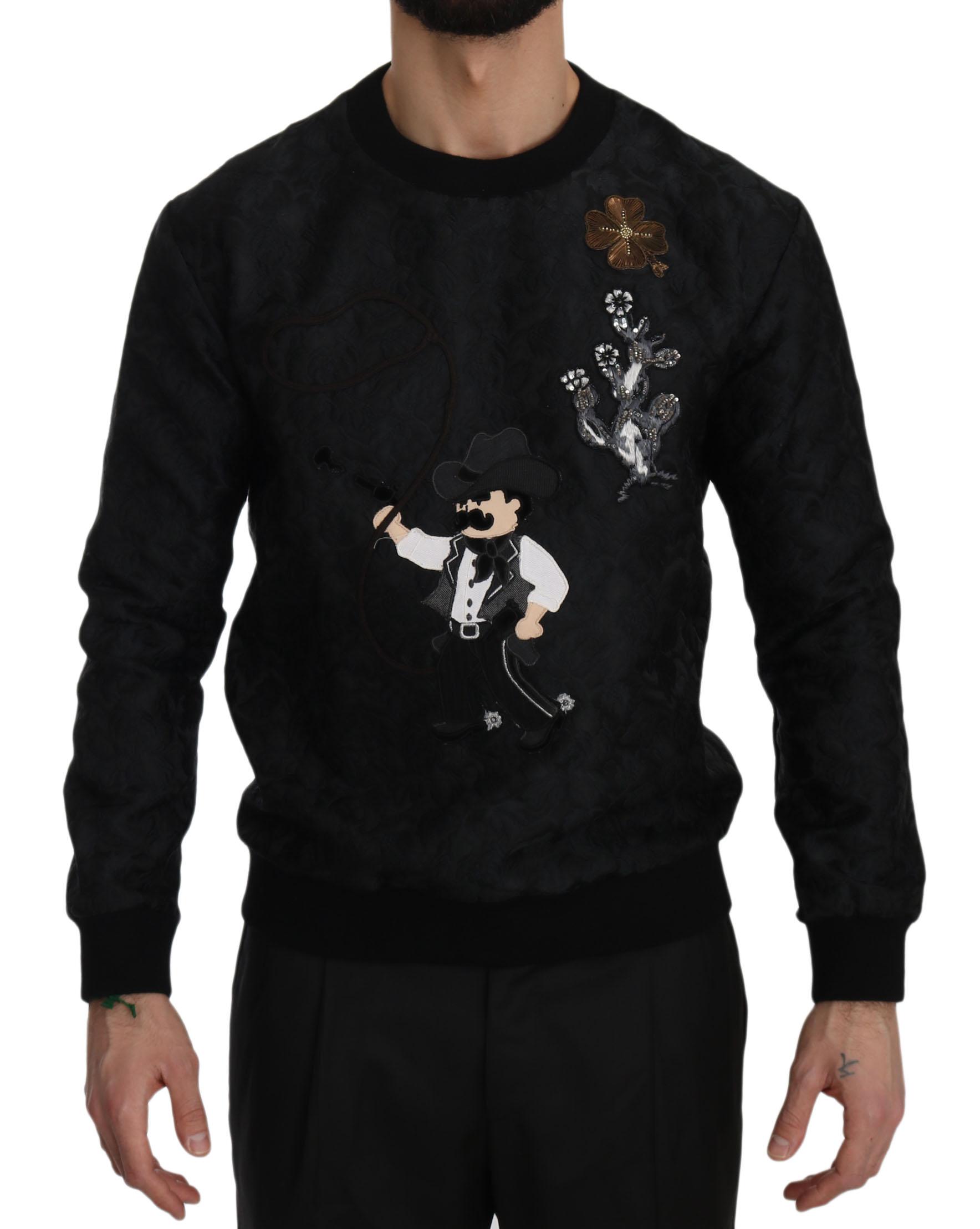 Dolce & Gabbana Men's Sweater Black TSH3500 - IT44   XS