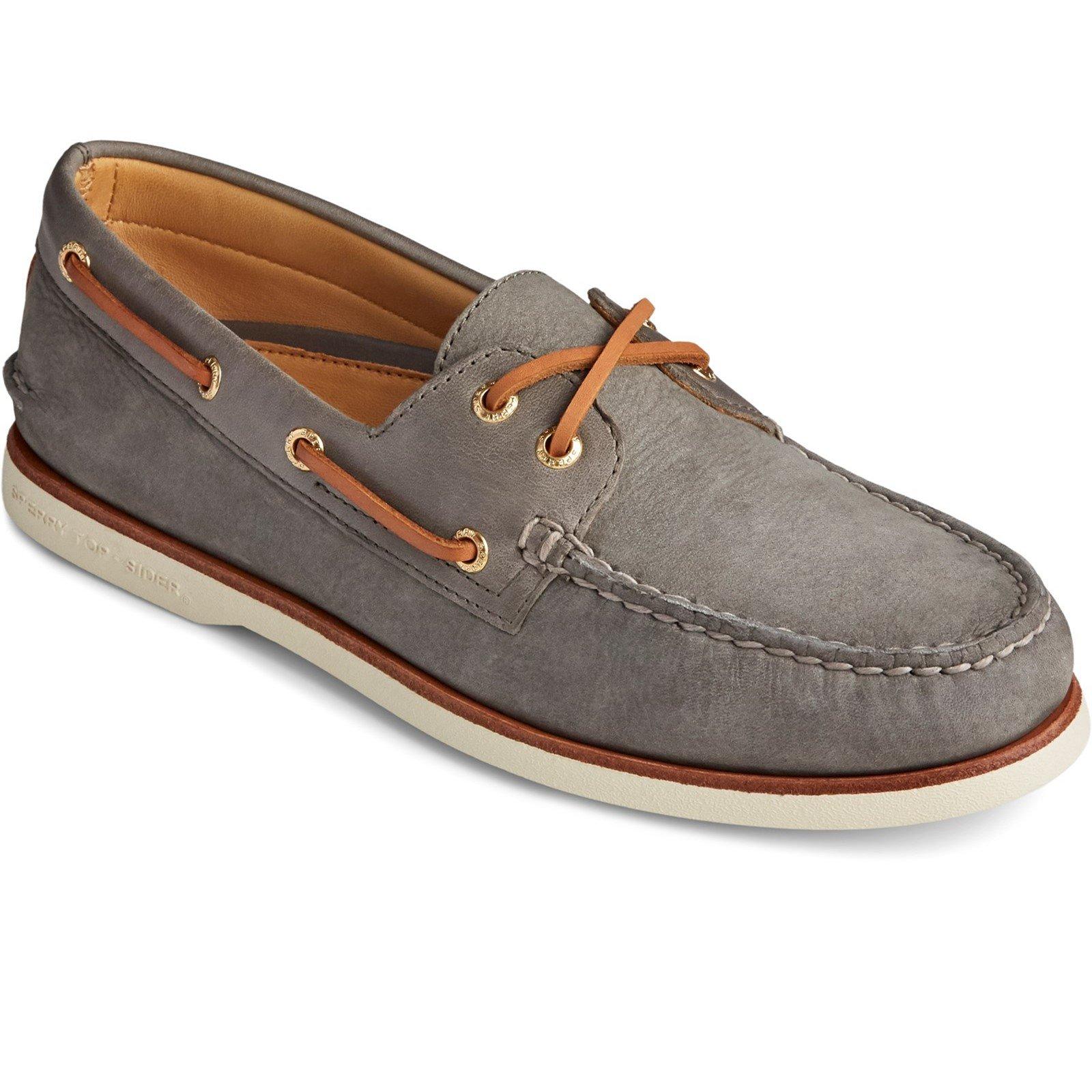 Sperry Men's Authentic Original Seaside Boat Shoe Grey 31529 - Grey 10