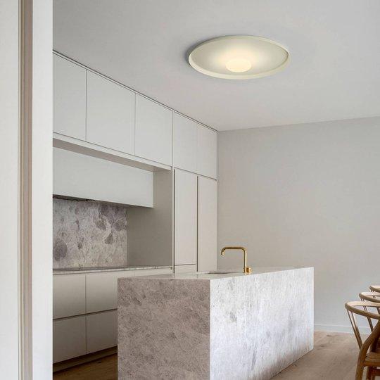 Vibia Top LED-vegglampe Ø 60 cm grønn L1