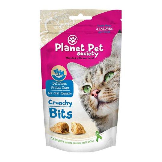 Planet Pet Society Crunchy Bits Dental Care (40 grammaa)