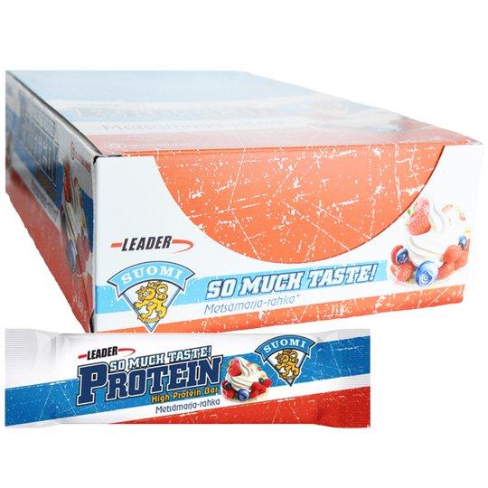 """Laatikollinen proteiinipatukoita """"Forest Berries"""" 24 x 61 g - 67% alennus"""