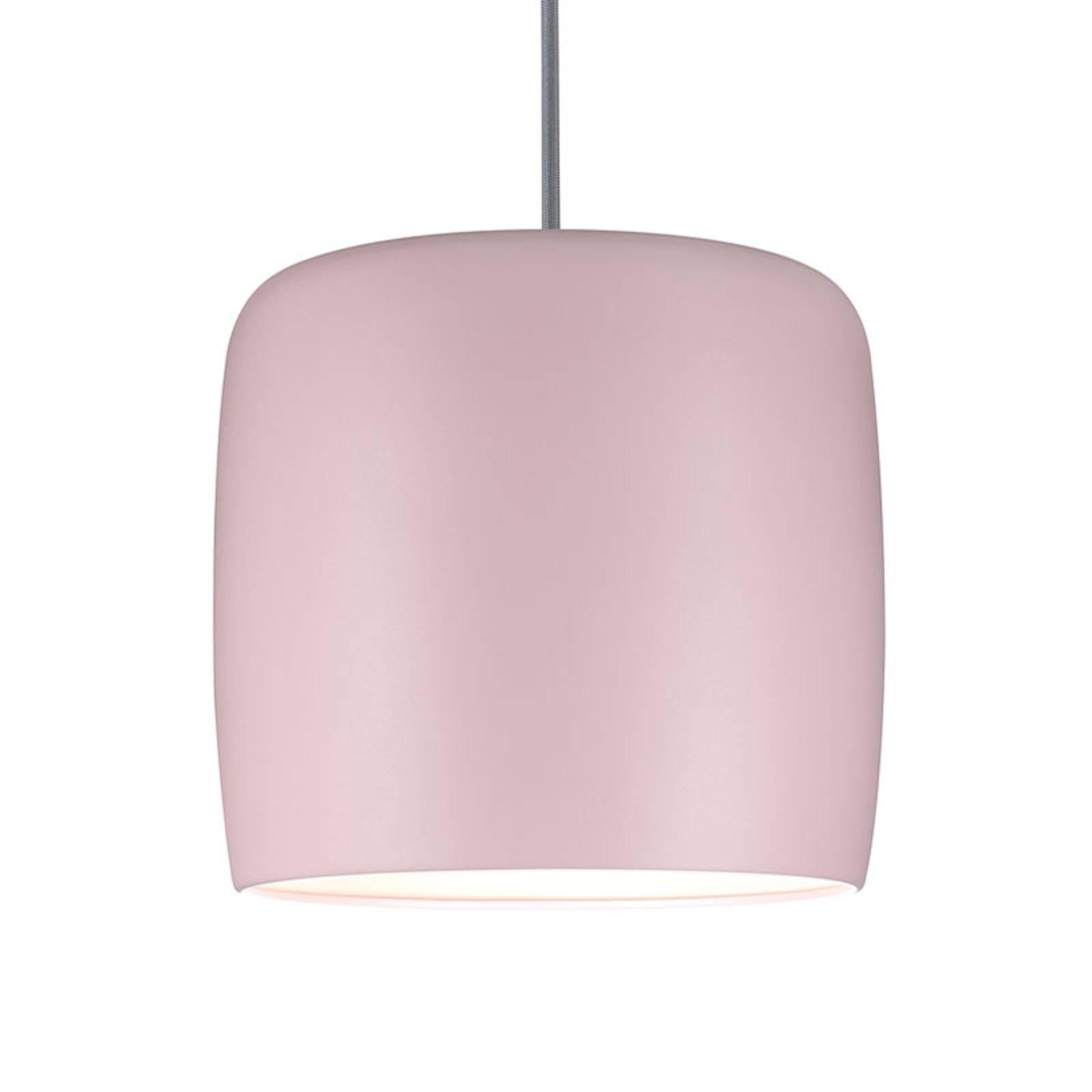 Paulmann-metallivarjostin Pien, vaaleanpunainen
