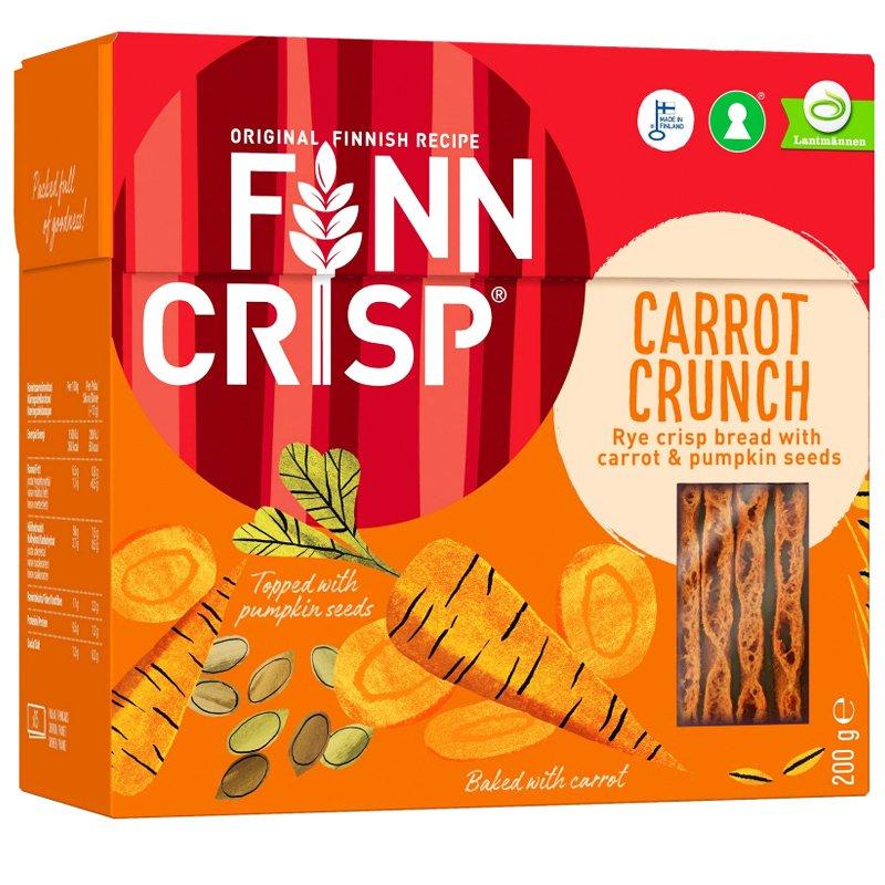 Näkkileipä Carrot Crunch - 60% alennus