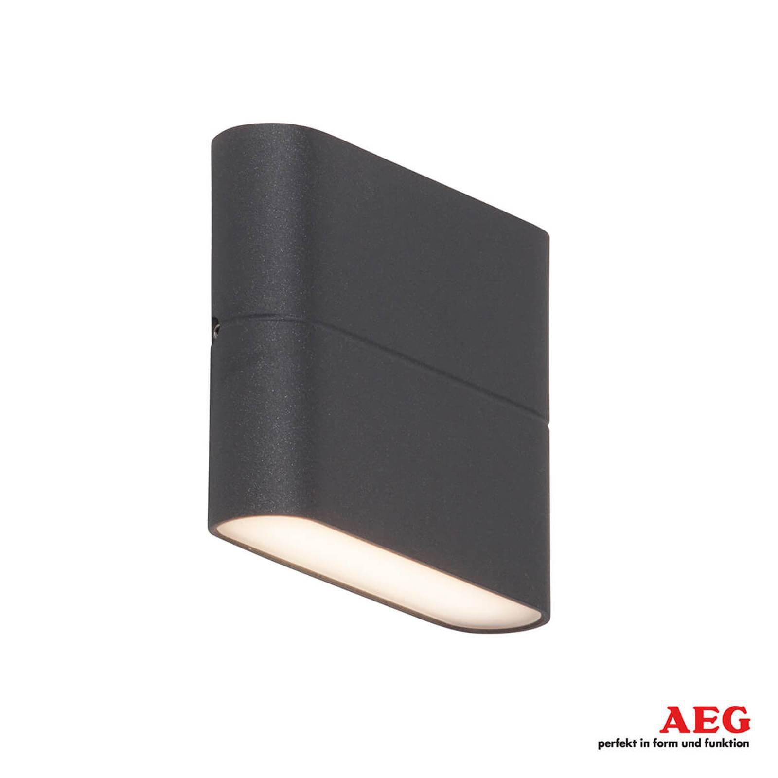 Flat LED-utevegglampe Telesto - 11.5 cm bred