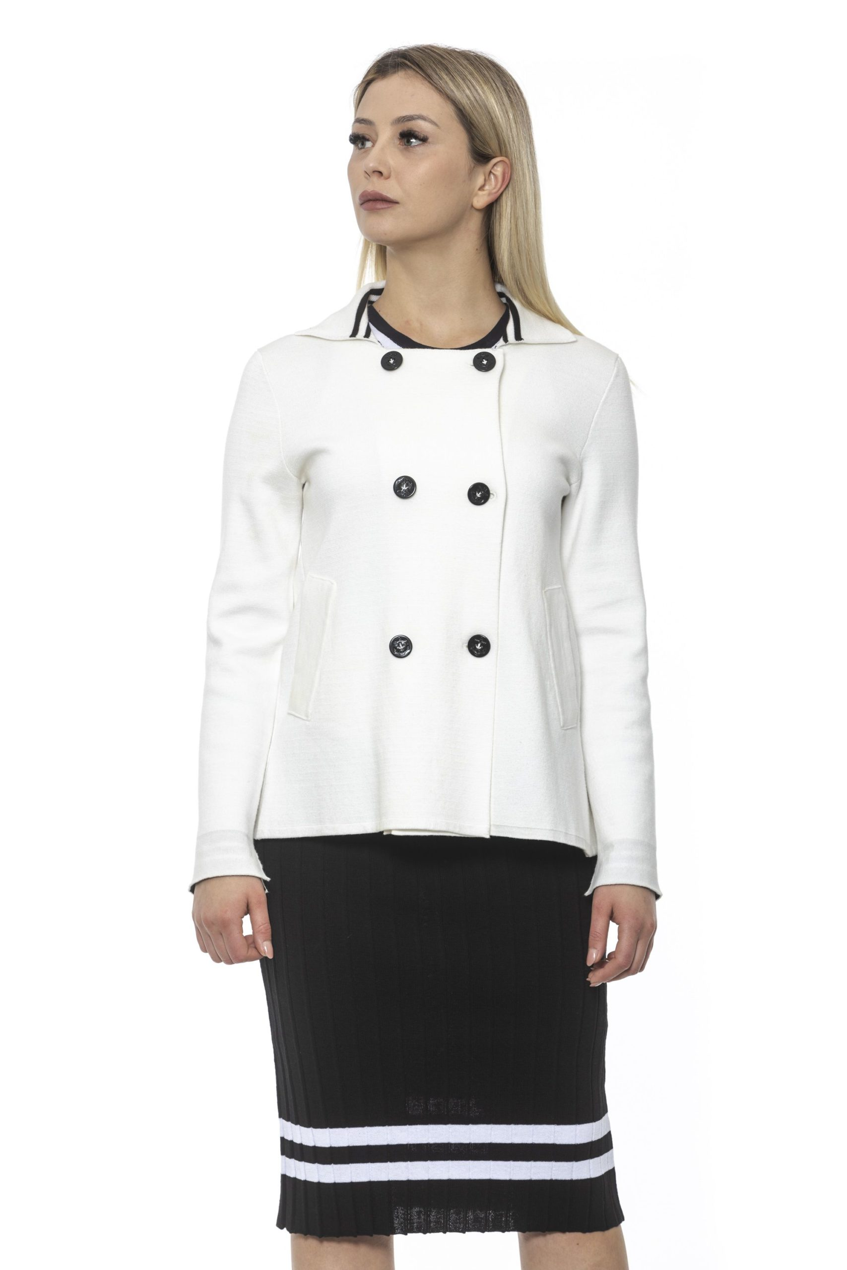 Alpha Studio Women's E C R U' Coat AL1374880 - IT40 | XS