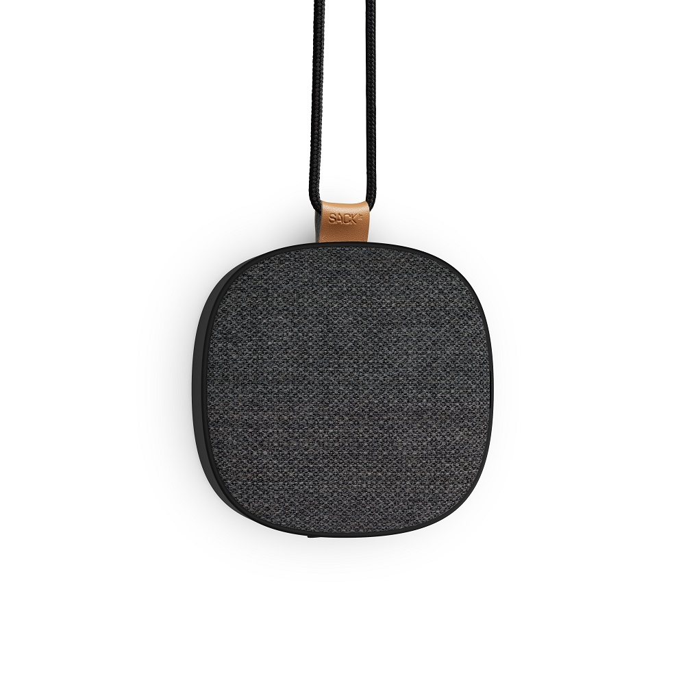 SACKit - WOOFit GO XQ Wireless Charging Bluetooth Speaker - Steel