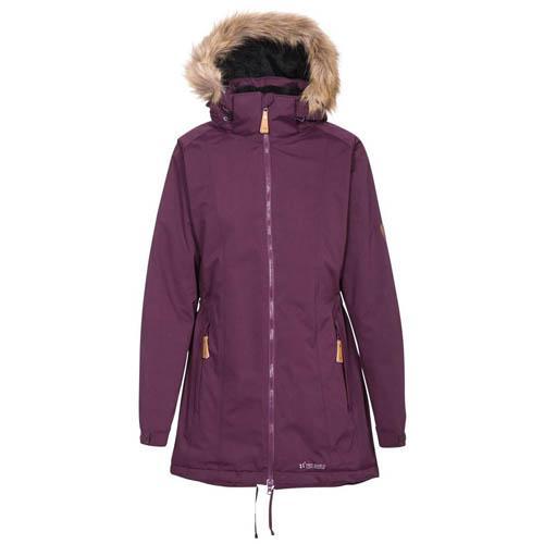 Trespass Women's Waterproof Padded Coat Various Colours Celebrity - Potent Purple XS
