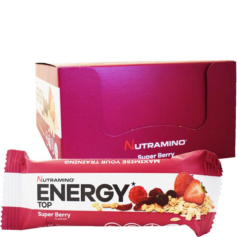 "Laatikollinen Energiapatukoita ""Super Berry"" 20 x 50g - 71% alennus"
