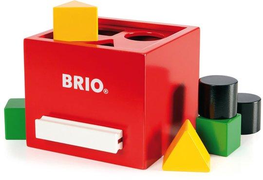 BRIO 30148 Puttekasse Rød