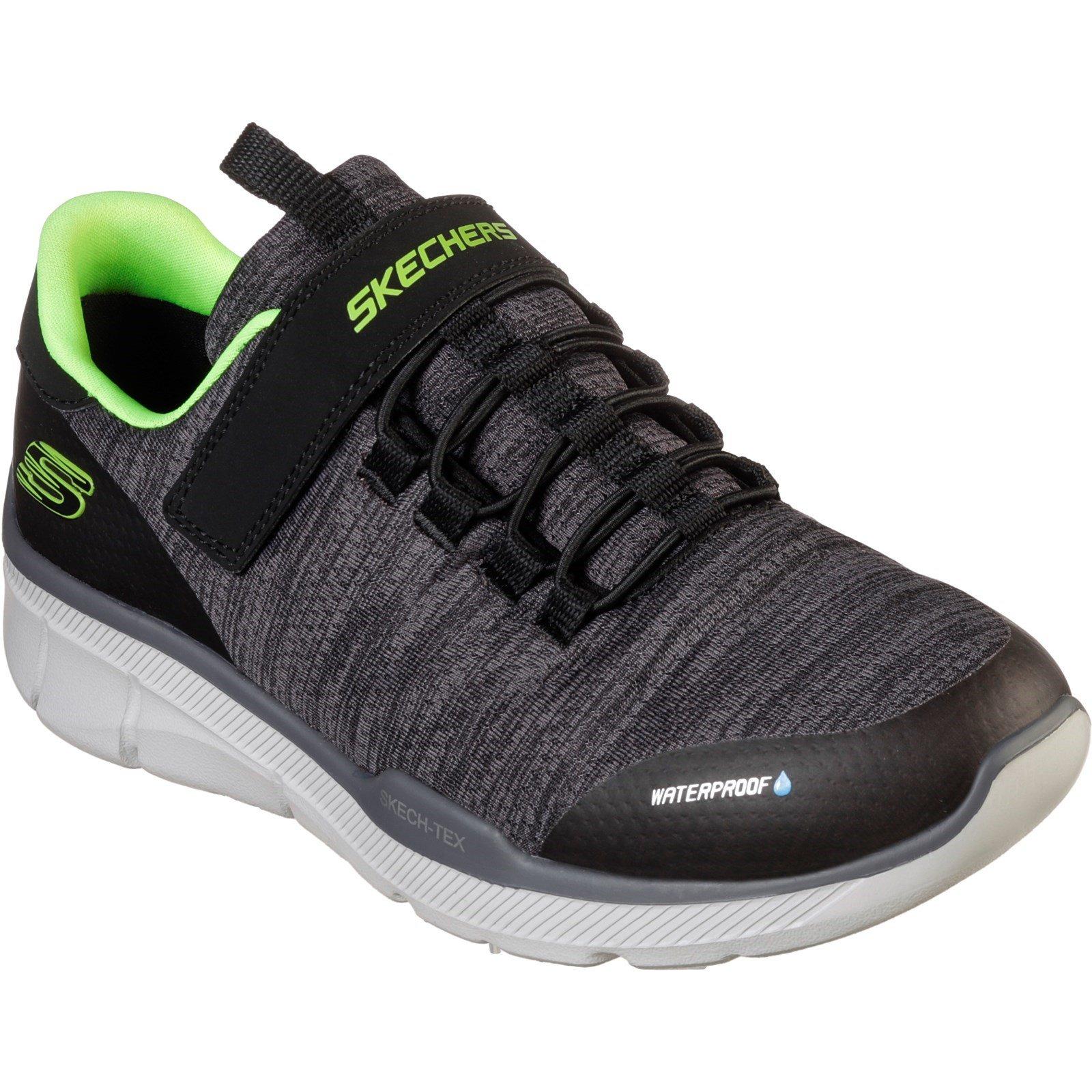 Skechers Unisex Equalizer 3.0 Aquablast Trainer Black 28533 - Black/Charcoal 10