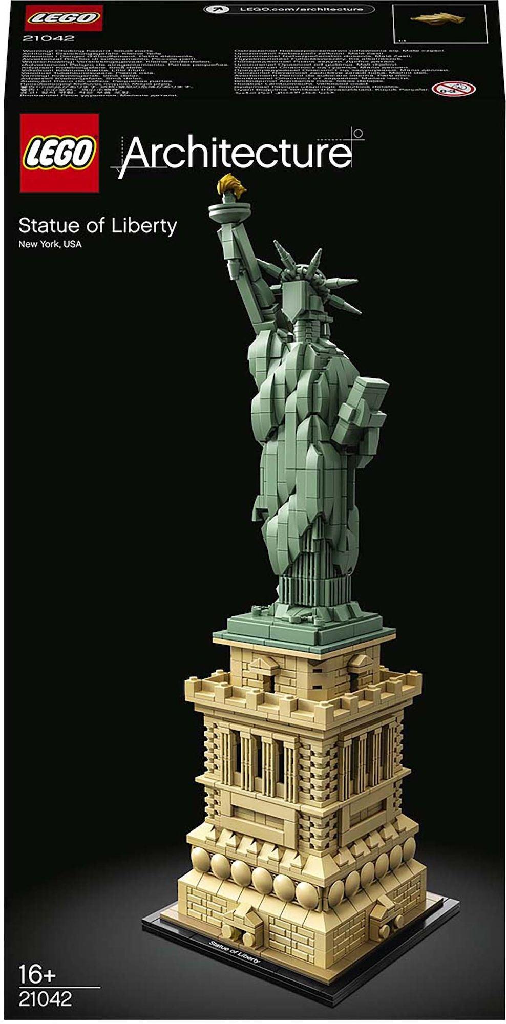LEGO Architecture 21042 Vapaudenpatsas