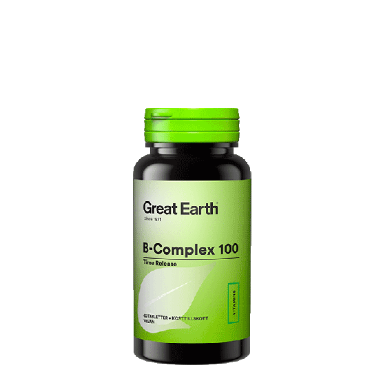 B-Complex 100, 60 tabletter