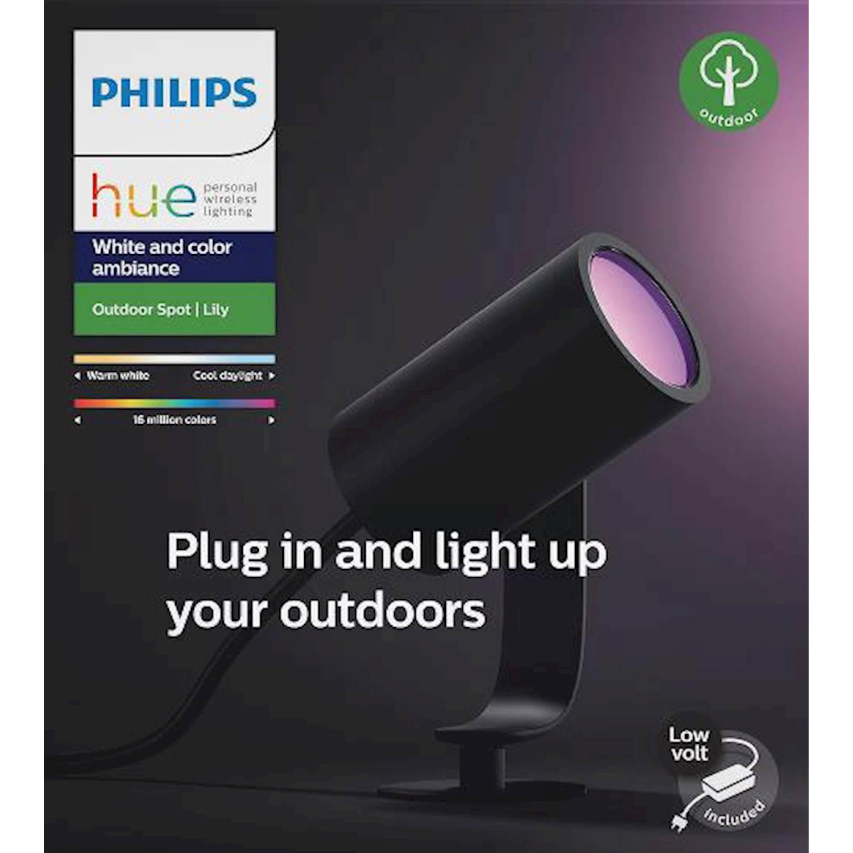 Philips Spot Lily antrac 8w förläng