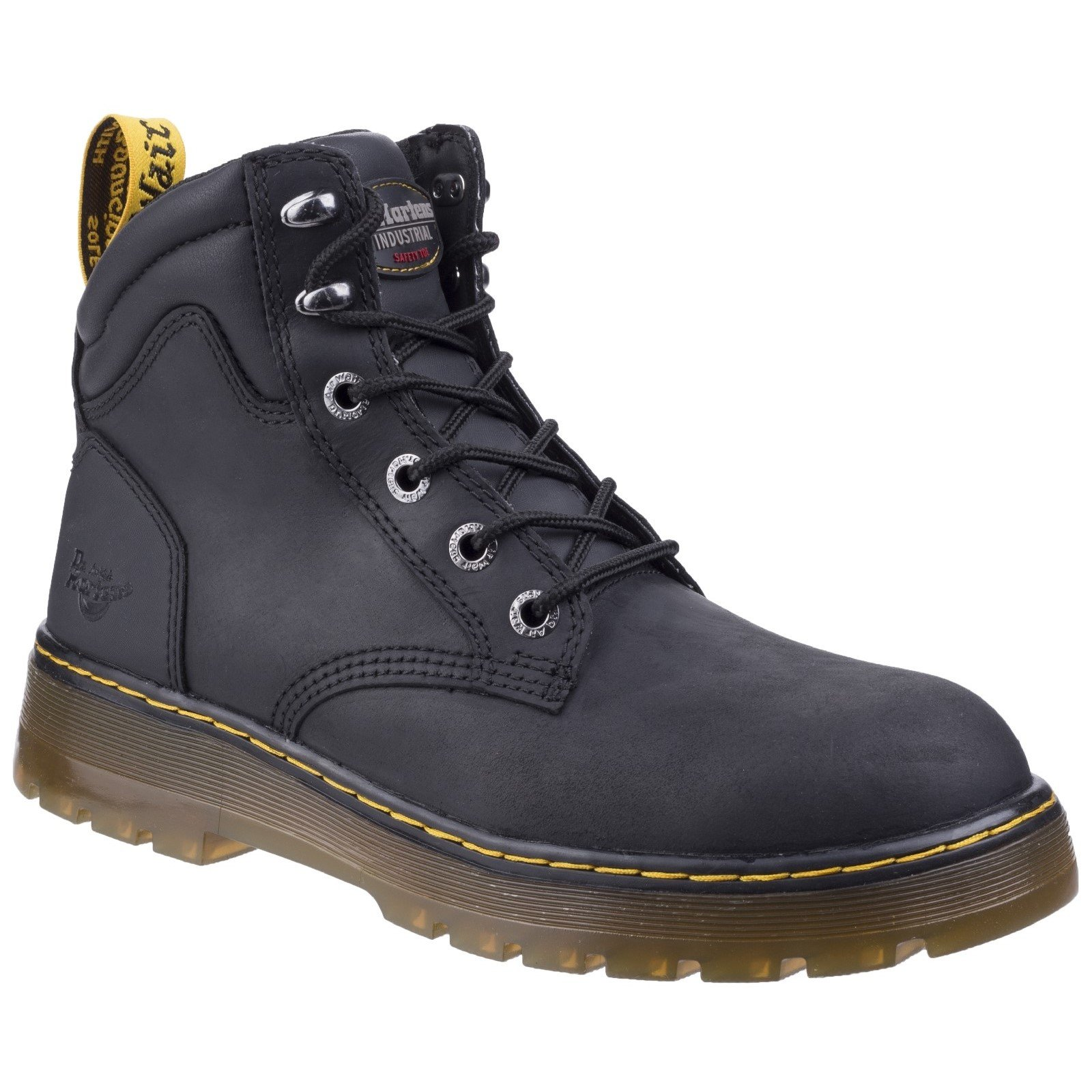 Dr Martens Unisex Brace Hiking Style Safety Boot Various Colours 27702-46606 - Black Republic 10