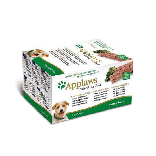 Applaws Dog Chicken, Lamb & Salmon Multipack Loaf