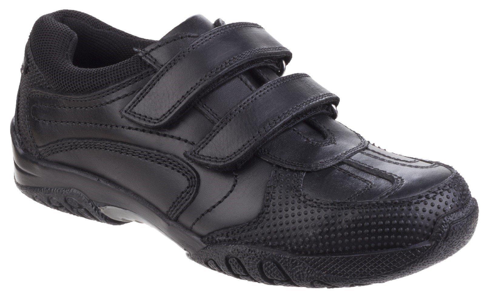 Hush Puppies Women's Jezza Back To School Shoe Black 25343 - Black 3