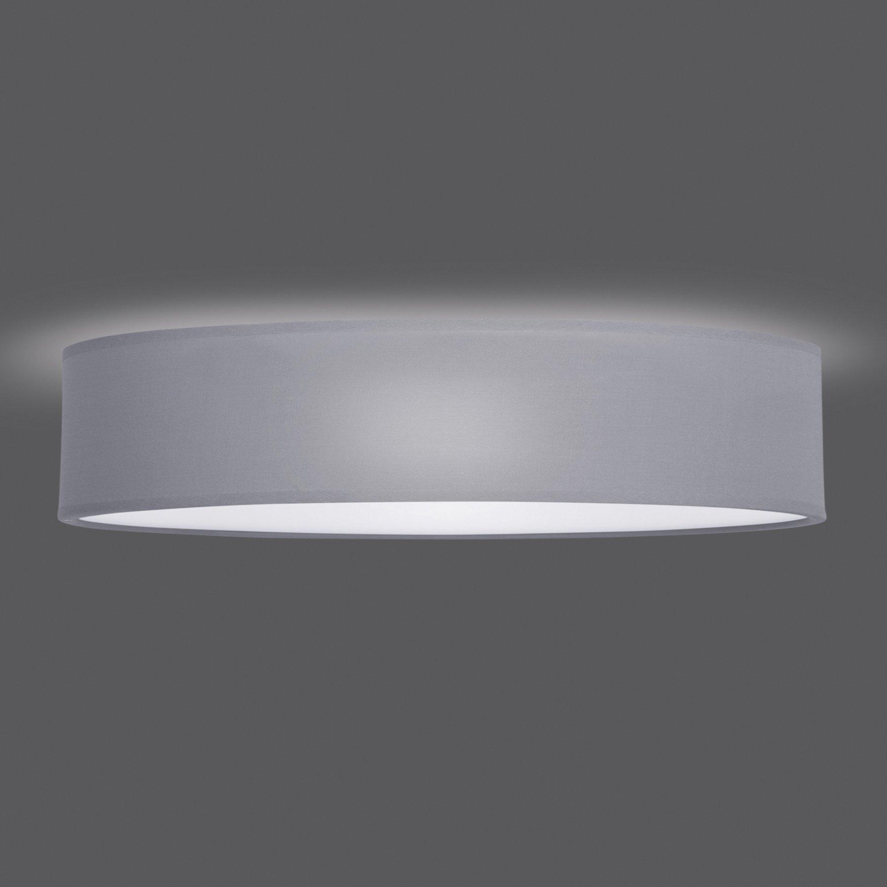 Taklampe Mia, grå, Ø 50 cm