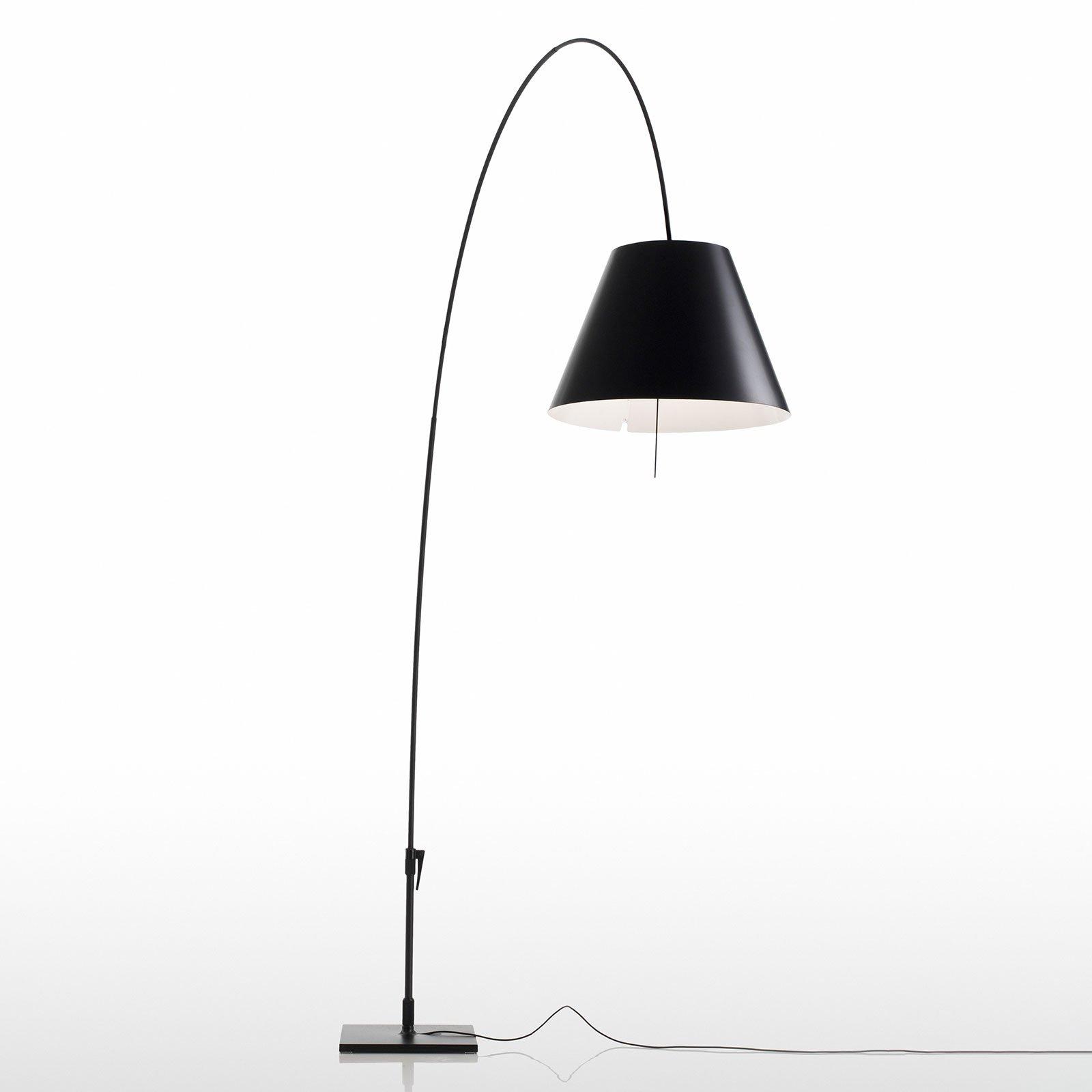 Luceplan Costanza gulvlampe D13E d, svart