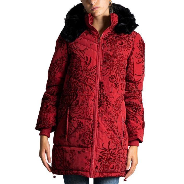 Desigual Women's Jacket Various Colours 319998 - red L