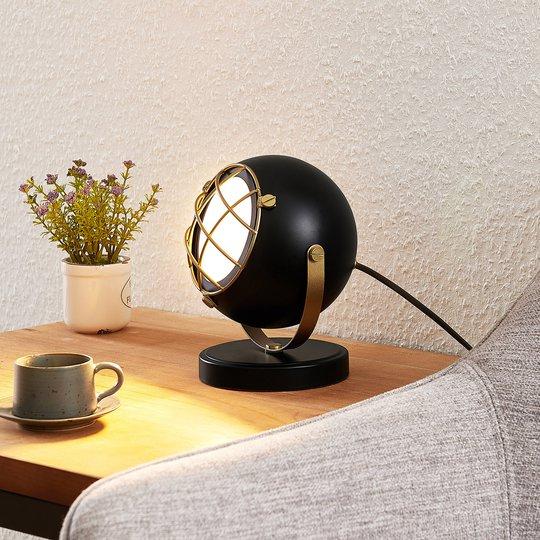 Lindby Dawid -LED-pöytälamppu, kulta