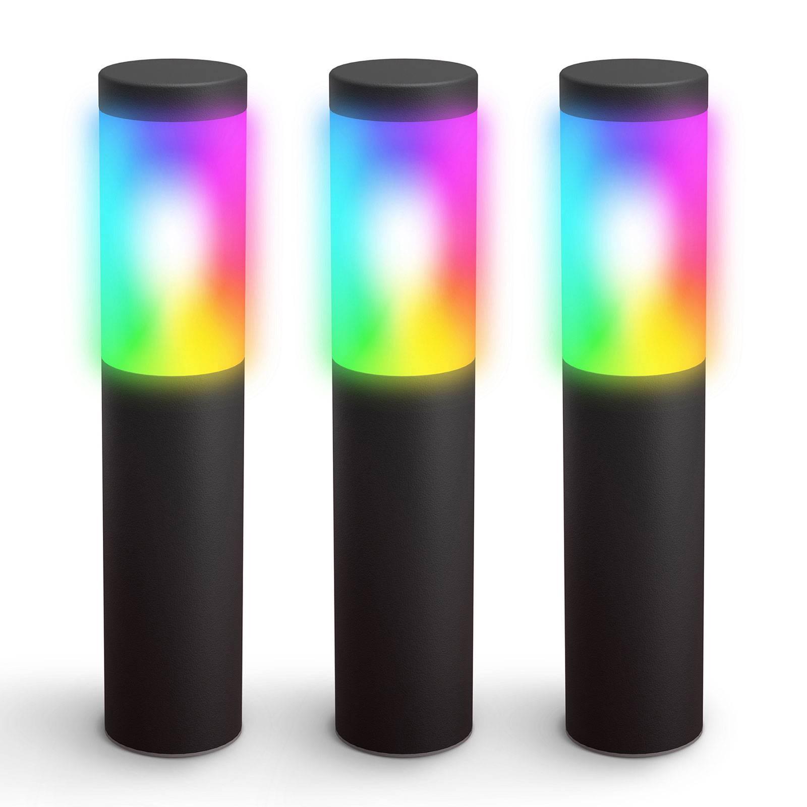 Innr-LED-maapiikkivalo Smart Outdoor RGBW, 3 kpl