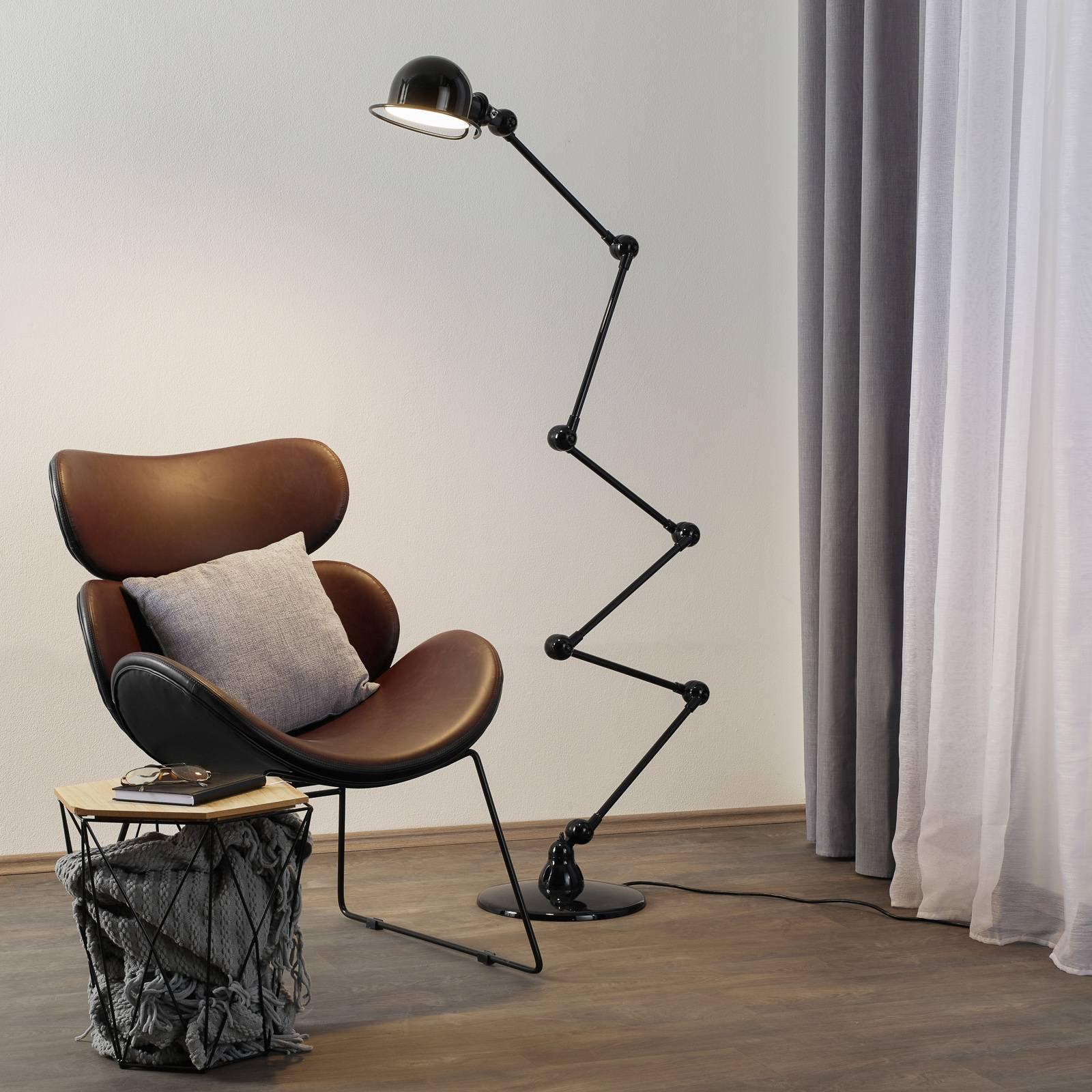 Jieldé Loft D9406 gulvlampe 6x40cm, svart