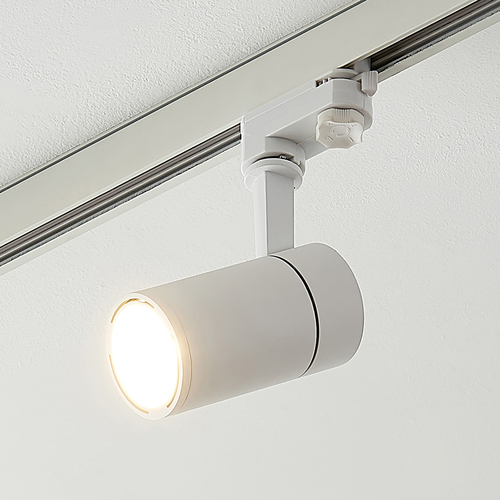 Arcchio Cady LED-kiskovalaisin, valkoinen 36° 12W