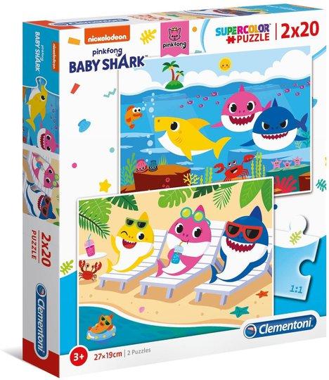 Baby Shark Puslespill 2x20 Biter