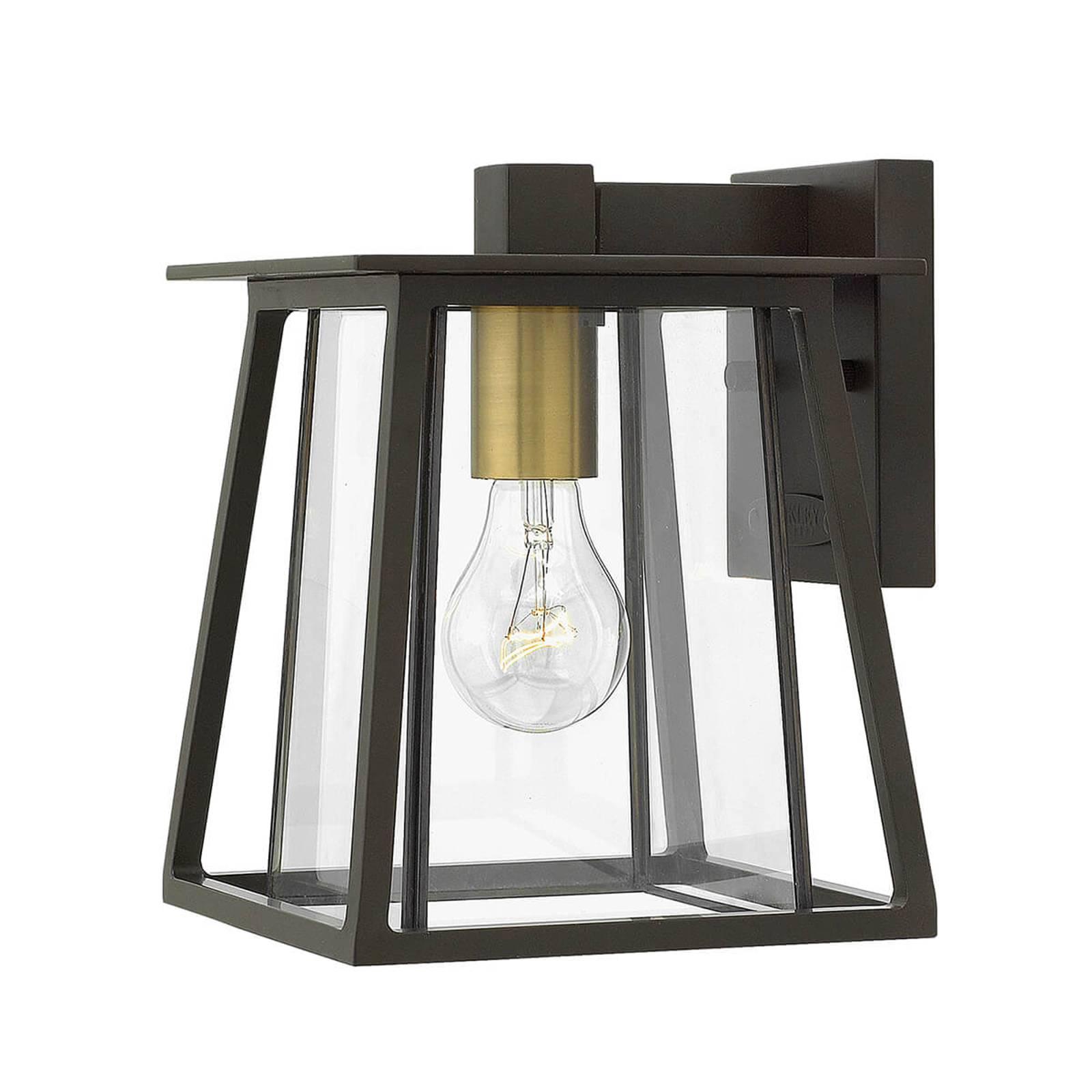 Walker-ulkoseinävalaisin 1-lamppuinen – pieni
